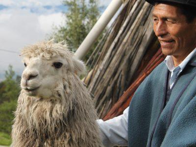 school_expedition_ecuador_scuba_local_man__llama