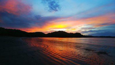 school_expedition_costa_rica_scuba_beach_sunset
