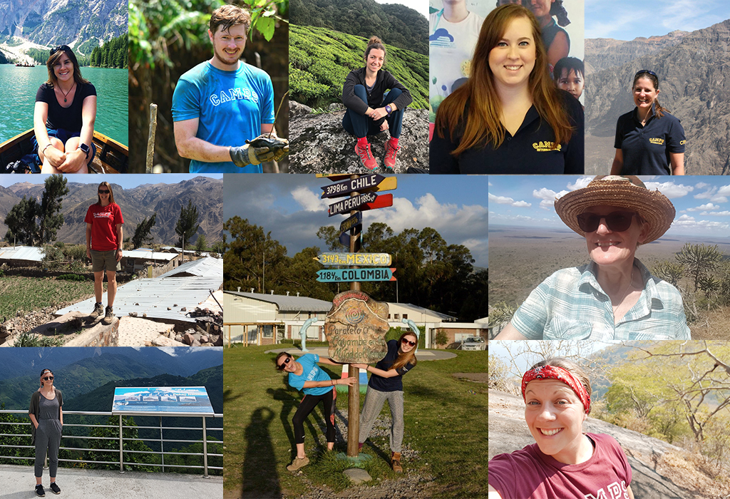 Camps International Operations Team Photograph