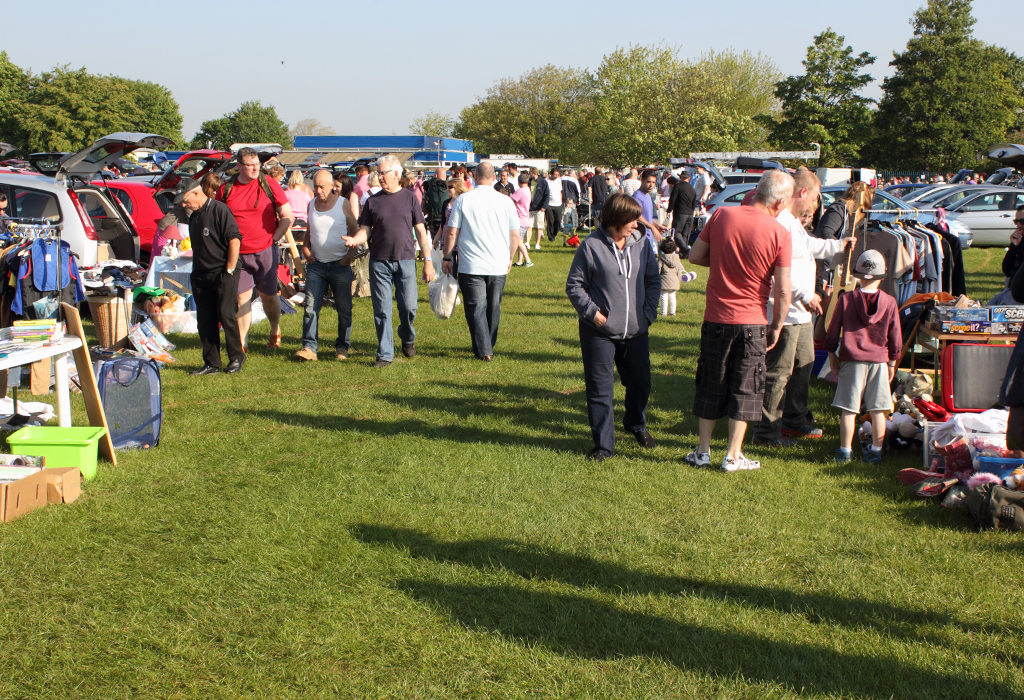 car boot sales can help you fundraise